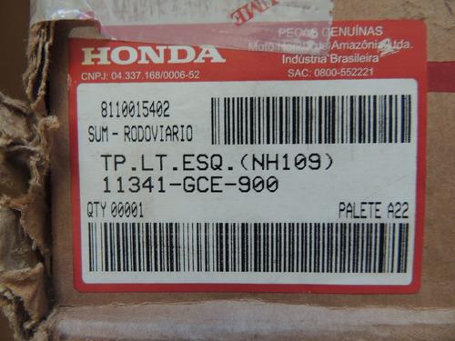 tapa motor izquierda original honda biz 100/105 - sandin