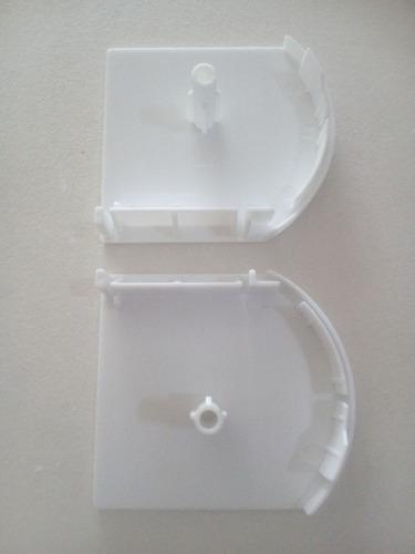 tapa nueva para persiana sheer elegance blanco kit 2 piezas