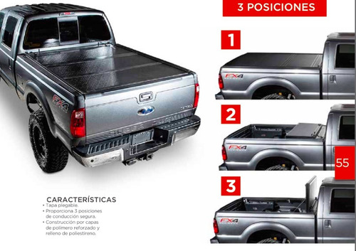 tapa para caja undercover flex ford lobo platinum lariat 17