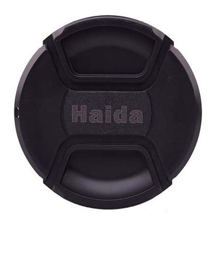 tapa para lentes haida originales hd1051 58 mm - para todo lente con rosca frontal de 58 mm