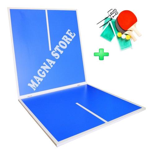 tapa ping pong plegable sola p/ metegol tejo +paletas pelota