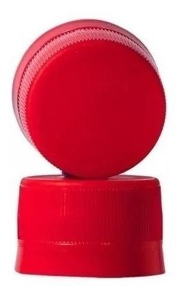 tapa plástica roja gocy
