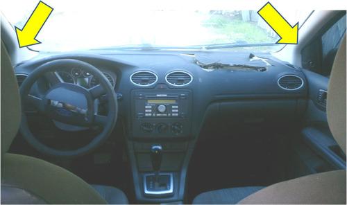 tapa plastico columna izq. parabrisas ford focus mod 2007