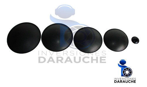 tapa polvo 105mm (4 ) en negro mate (21-405m)