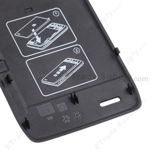 tapa posterior bateria motorola droid 4 xt894 4g back cover
