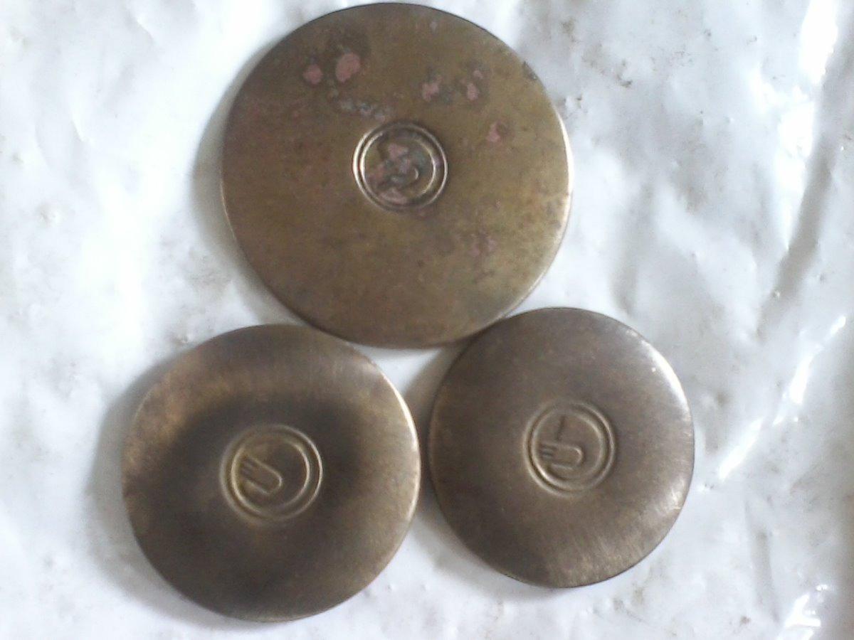 Tapa Quemadores De Bronce Cocina Orbis Antigua 63 Y 80mm - $ 380,00 ...