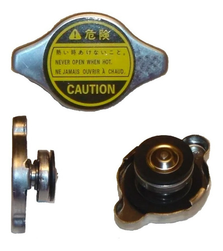 tapa radiador japoneses alta 16mm 0.9l c/resorte