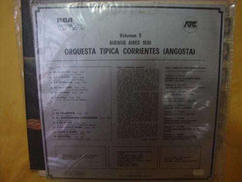 tapa sin disco orquesta tipica corriente bs as 1930