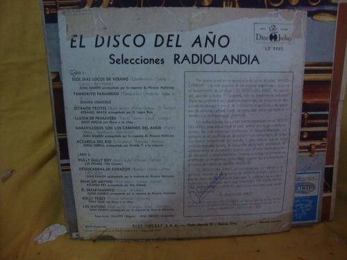 tapa sin disco selecciones radiolandia el disco del año