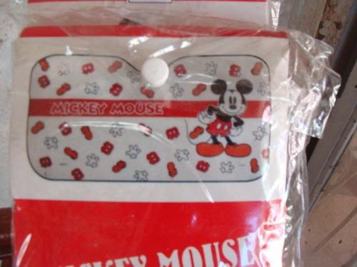 tapa sol para carros mickey mouse