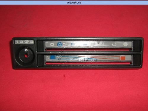 tapa tablero cuadrante defroster golf jetta a2 85-92