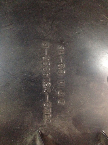tapa tablero mustang 69 /70 lado del pasajero
