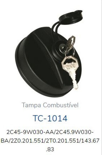 tapa tanque gasoil con llave tanclick tc-1014