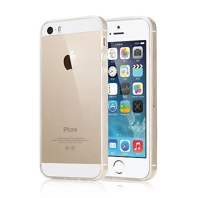 ad392c46a22 Tapa Transparente Para iPhone 5 Funda Piel Protector Scratch ...