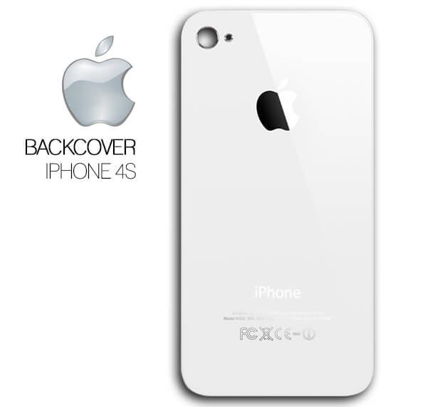a7dcda58bc5 Tapa Trasera Apple iPhone 4s Cristal Blanco 100% Original - Bs. 120 ...