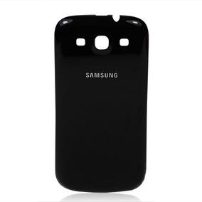 1032b81eb82 Tapa Trasera Carátula Batería Negro Galaxy S3 I9300 I747