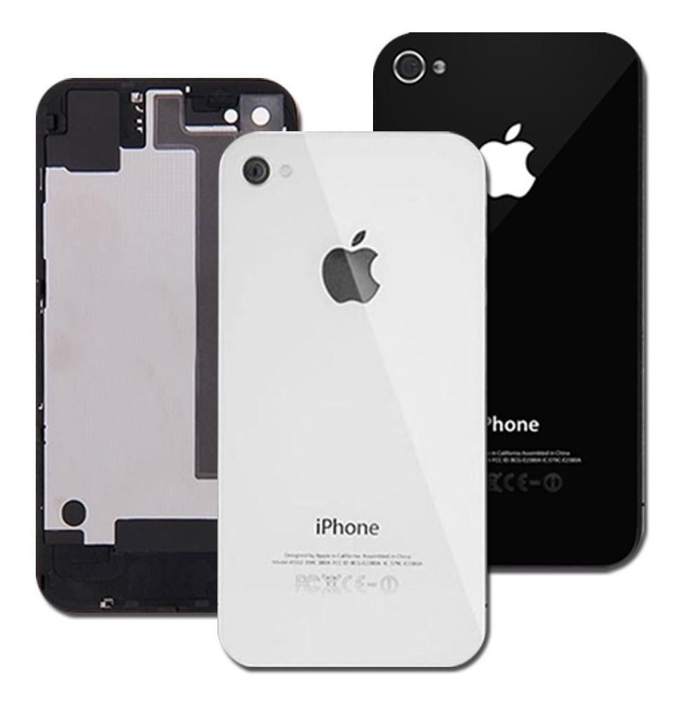 1f93c46d801 tapa trasera celular iphone 4 o 4s original, negro o blanco. Cargando zoom.