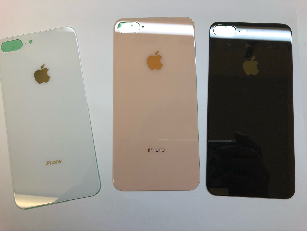 287d54fdd56 tapa trasera cristal glass iphone 8 plus back cover dhl. Cargando zoom.