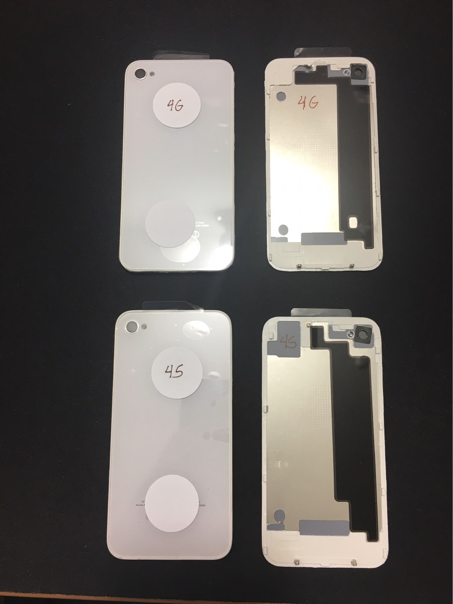 2201b55044f tapa trasera cristal vidrio apple iphone 4g 4s blanco negro. Cargando zoom.