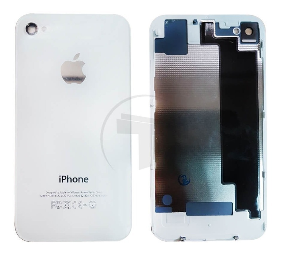 d3f3a8ec318 Tapa Trasera De Cristal iPhone 4s Original Blanco+ Kit - $ 150.00 en ...