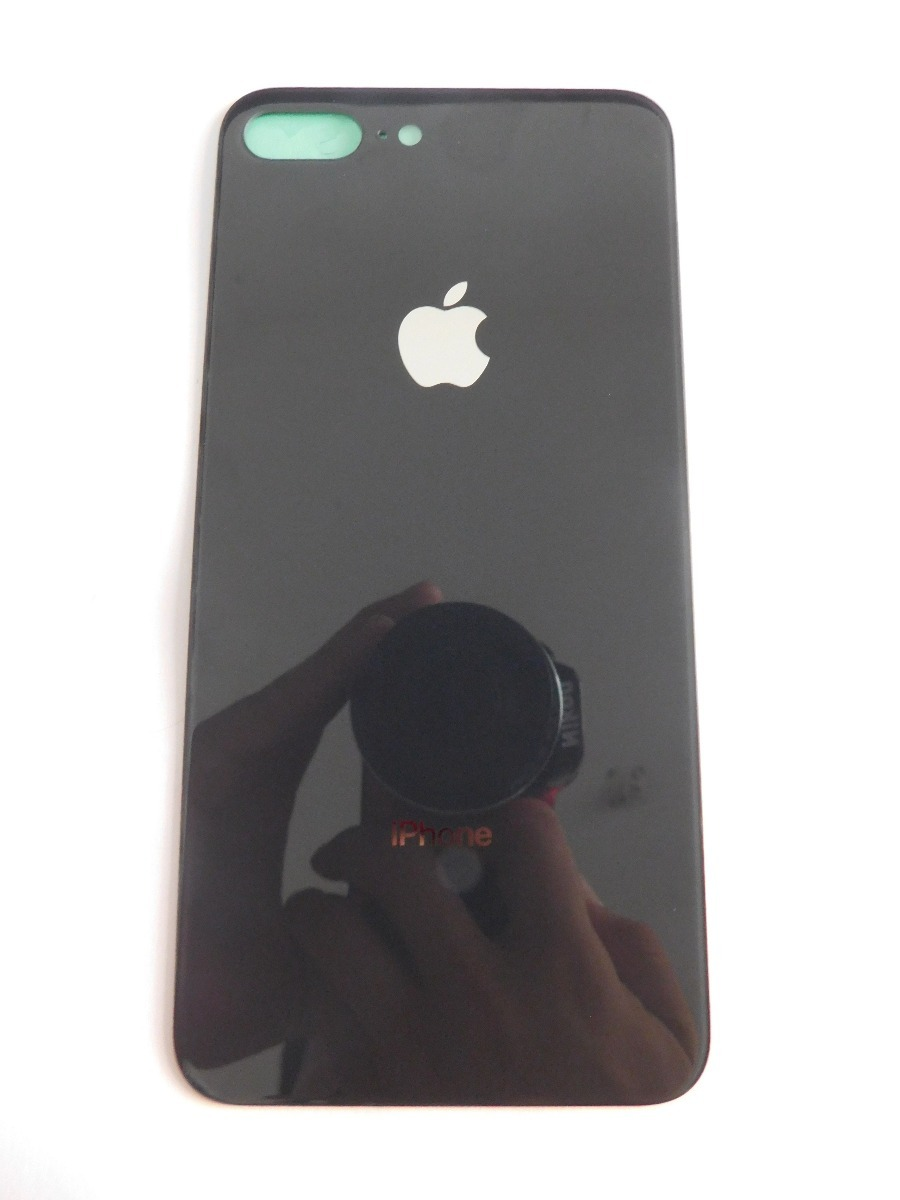 7269a253ce0 tapa trasera de cristal original iphone 8 plus negro calidad. Cargando zoom.