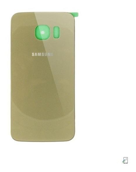 852b7c988db Tapa Trasera De Cristal Original Samsung Galaxy S6 Edge G925 ...