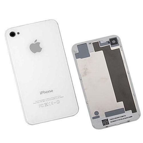 2c08b8b2dfa Tapa Trasera iPhone 4 4g Blanca Y Negra Original - U$S 10,00 en Mercado  Libre