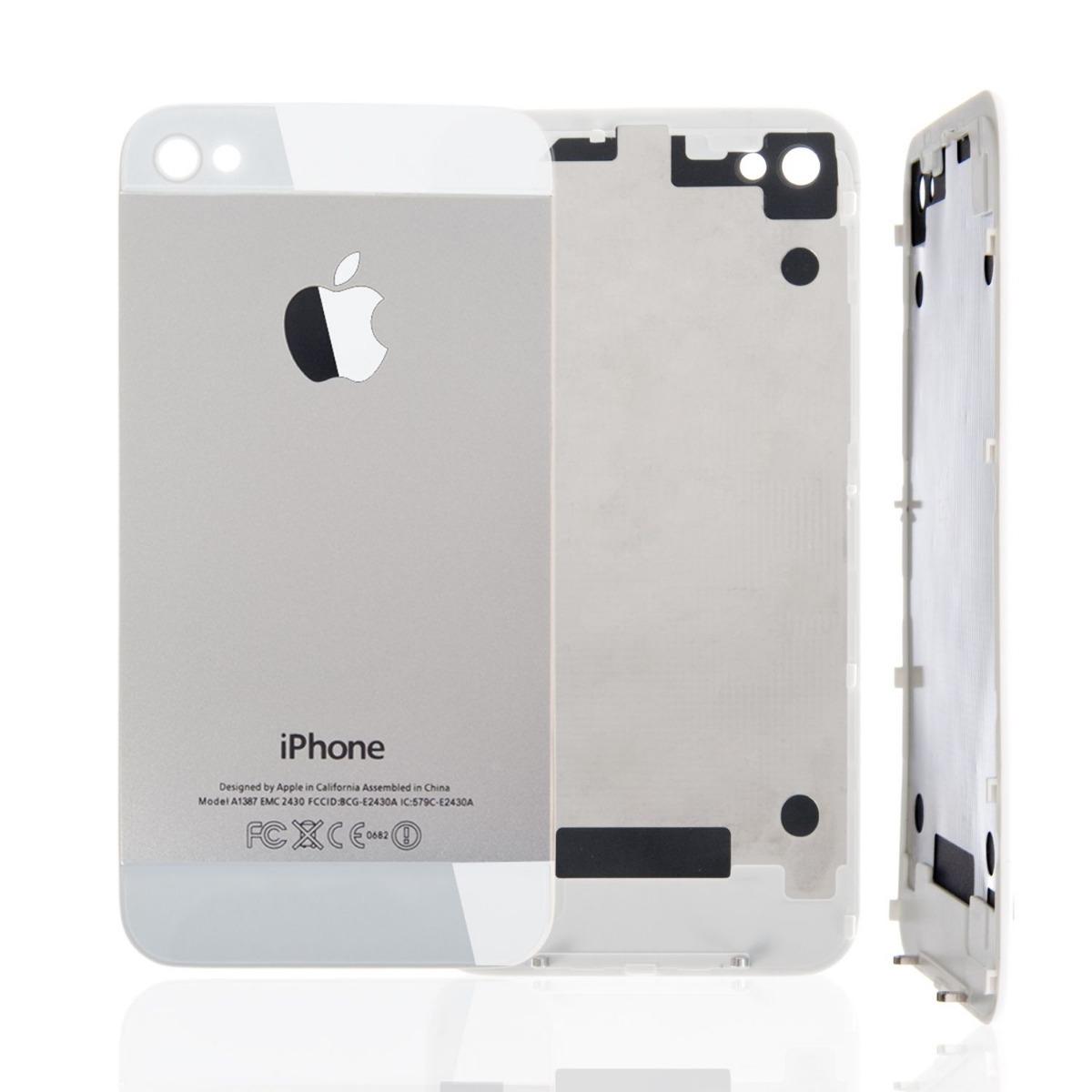39d3f9394ec tapa trasera iphone 4 y 4s negro blanco vidrio trasero apple. Cargando zoom.