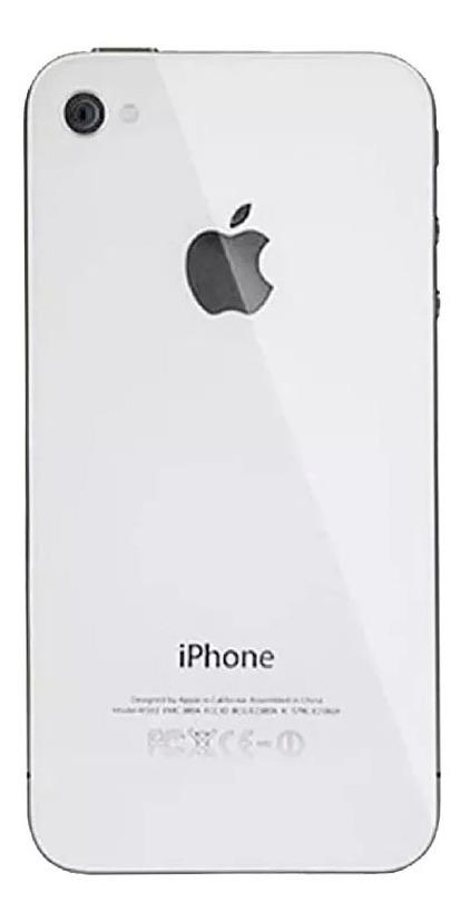 c1a01a9aa13 Tapa Trasera iPhone 4g 4 Blanco Nuevo Bagc - Bs. 10.300,00 en ...