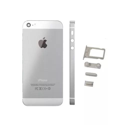 f907e0ed98c Tapa Trasera iPhone 5s Original Blanco Monkey Parts - $ 460.00 en ...