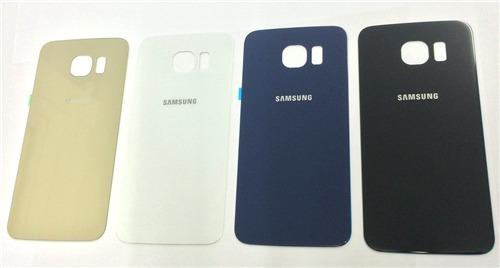 9d50e2c714e Tapa Trasera Original Samsung Galaxy S6 Edge Carcasa Cenvio ...