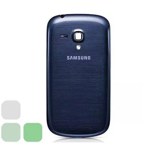 de0287cbb7e Tapa Trasera Samsung Galaxy S3 Mini Azul / Blanca - Bs. 7.144,00 en Mercado  Libre