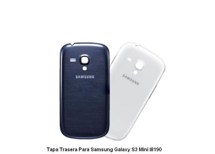 804658580a7 Tapa Trasera Samsung Galaxy S3 Mini I8190 Azul - Bs. 35.890,00 en Mercado  Libre