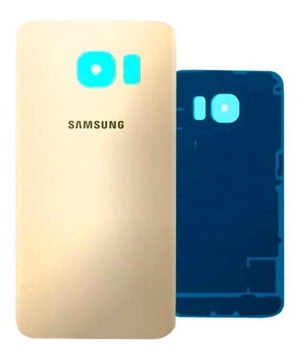 878820d3cbe Tapa Trasera Samsung Galaxy S6 Edge 100% Original Dorado - $ 295.00 ...