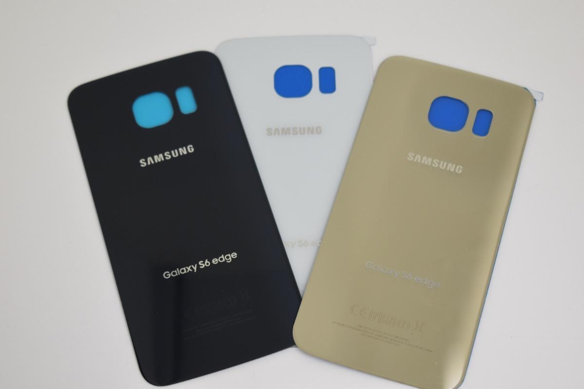 f595b6fdc06 Tapa Trasera Samsung Galaxy S6 Edge G925 Con Adhesivo - $ 179.00 en ...