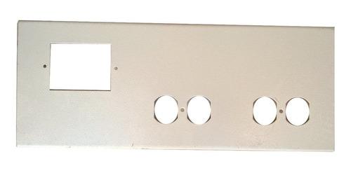 tapa troquel triple canaleta metalica electrico datos 5 und