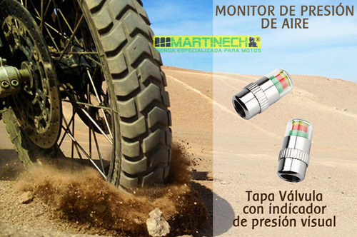tapa válvulas con sensor - monitores de presión de aire