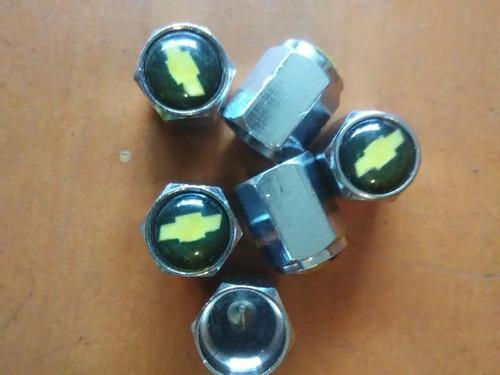 tapa válvulas gusanillo decorativo chevrolet set de 6 oferta