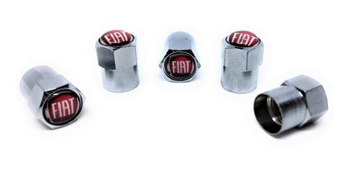 tapa valvulas para neumatico emblema fiat