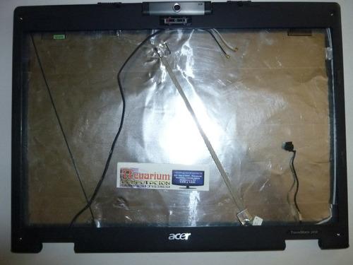 tapa y marco de display para notebook acer travelmate 2450