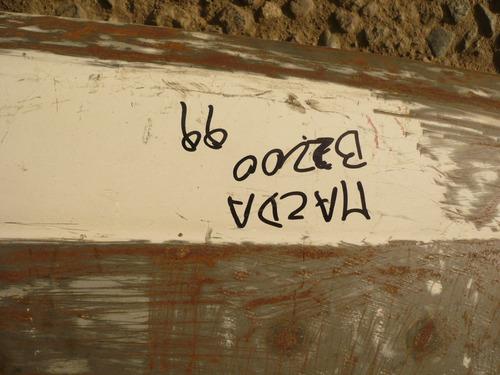 tapabarro mazda b2200 1999 der aboolado - lea descripción