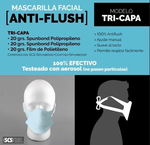 tapaboca barbijo máscara antiflush protección descartable!!!