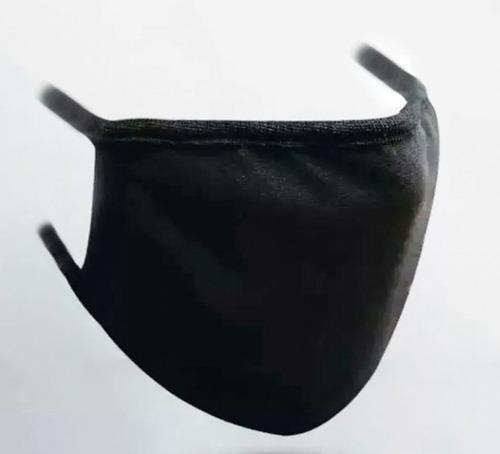 tapaboca cubreboca de tela lavable reusable sin estampado
