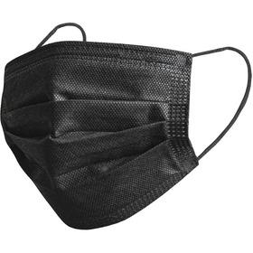 Tapaboca Desechable Negro X 50 - Unidad a $240
