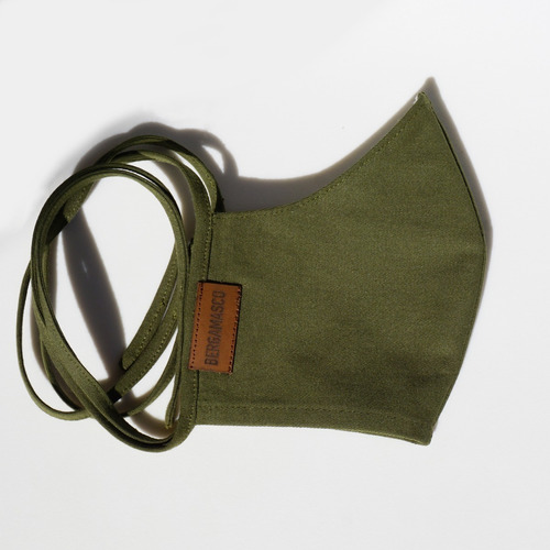 tapaboca diseño ginza green bergamasco