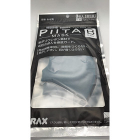 Tapaboca Pitta Mask Original Importado X 3 Uni Azul Petroleo