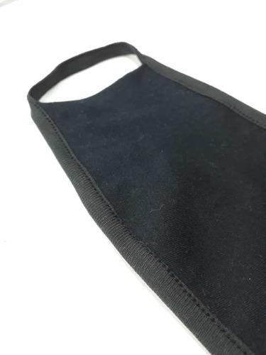 tapaboca, tela de algodón con bolsillo para filtro x 100u