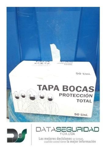 tapabocas 3 capas desechables