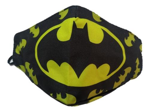 tapabocas batman superman deadpool, hulk, capitan america