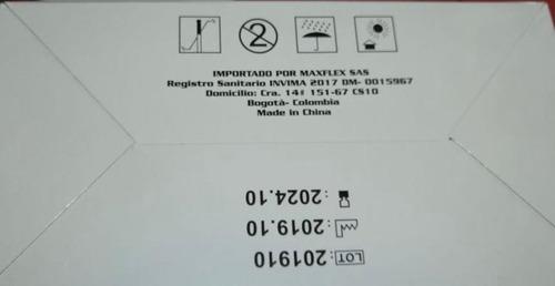 tapabocas con reg invima ,caja x 50